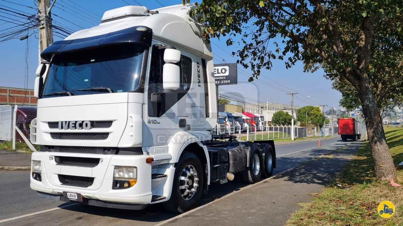 CAMINHAO IVECO STRALIS 410 Cavalo Mecânico Truck 6x2 Lelo Caminhões CURITIBA PARANÁ PR