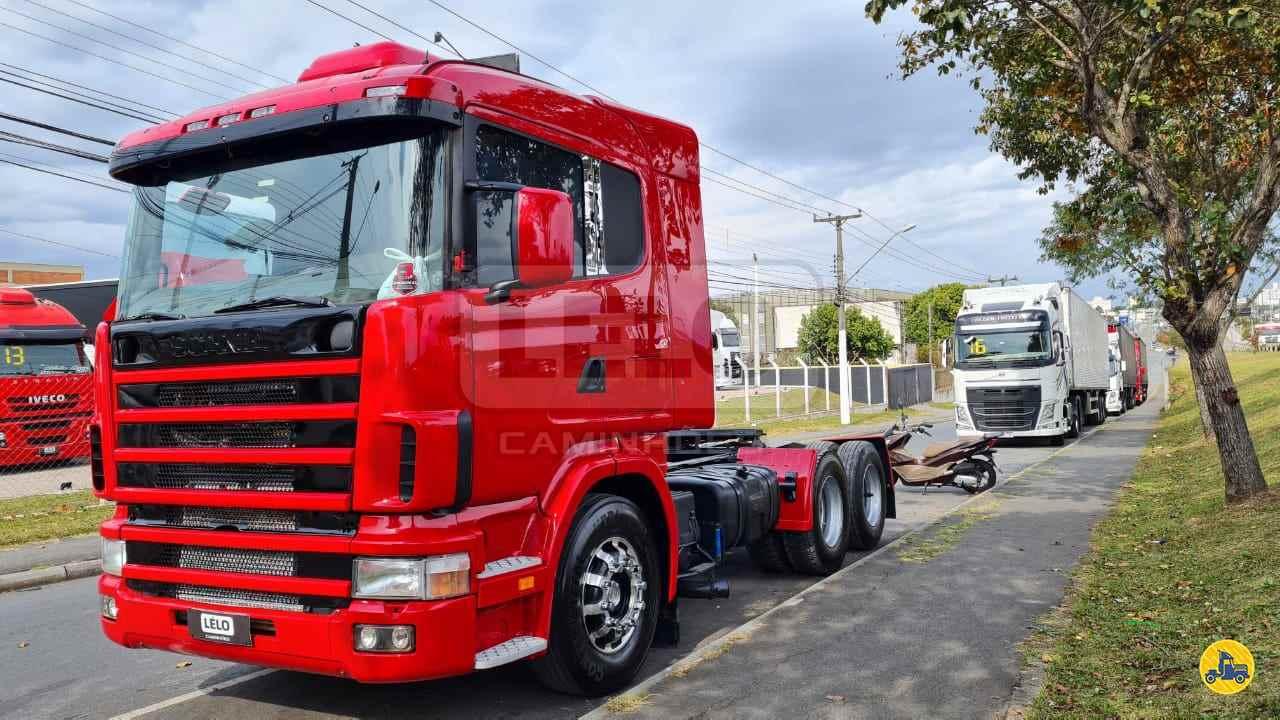 CAMINHAO SCANIA SCANIA 124 400 Cavalo Mecânico Truck 6x2 Lelo Caminhões CURITIBA PARANÁ PR