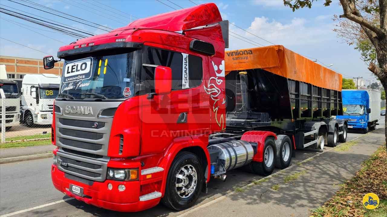 CAMINHAO SCANIA SCANIA 420 Cavalo Mecânico Truck 6x2 Lelo Caminhões CURITIBA PARANÁ PR