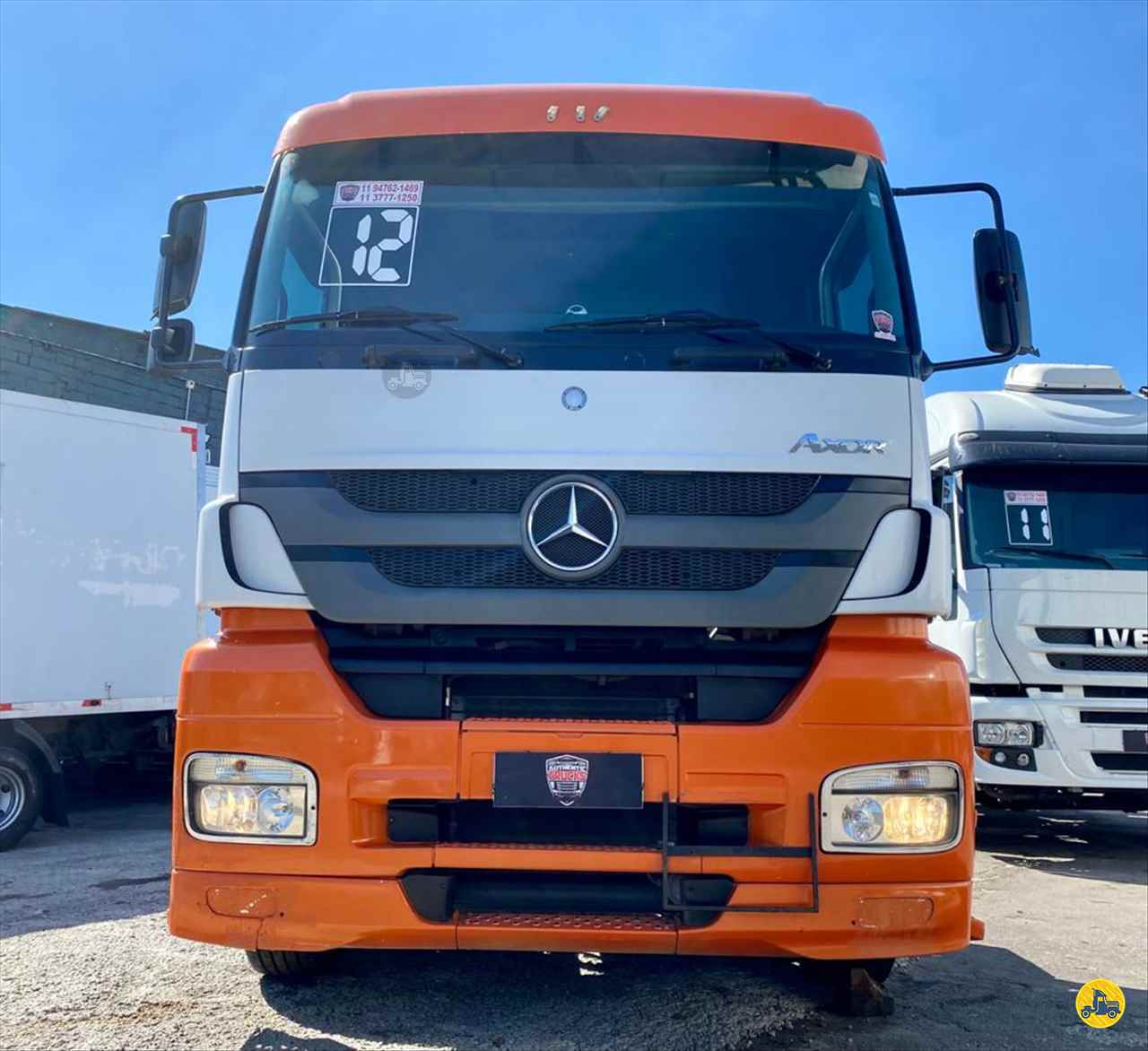 CAMINHAO MERCEDES-BENZ MB 2544 Chassis Truck 6x2 Authentic Trucks SAO PAULO SÃO PAULO SP
