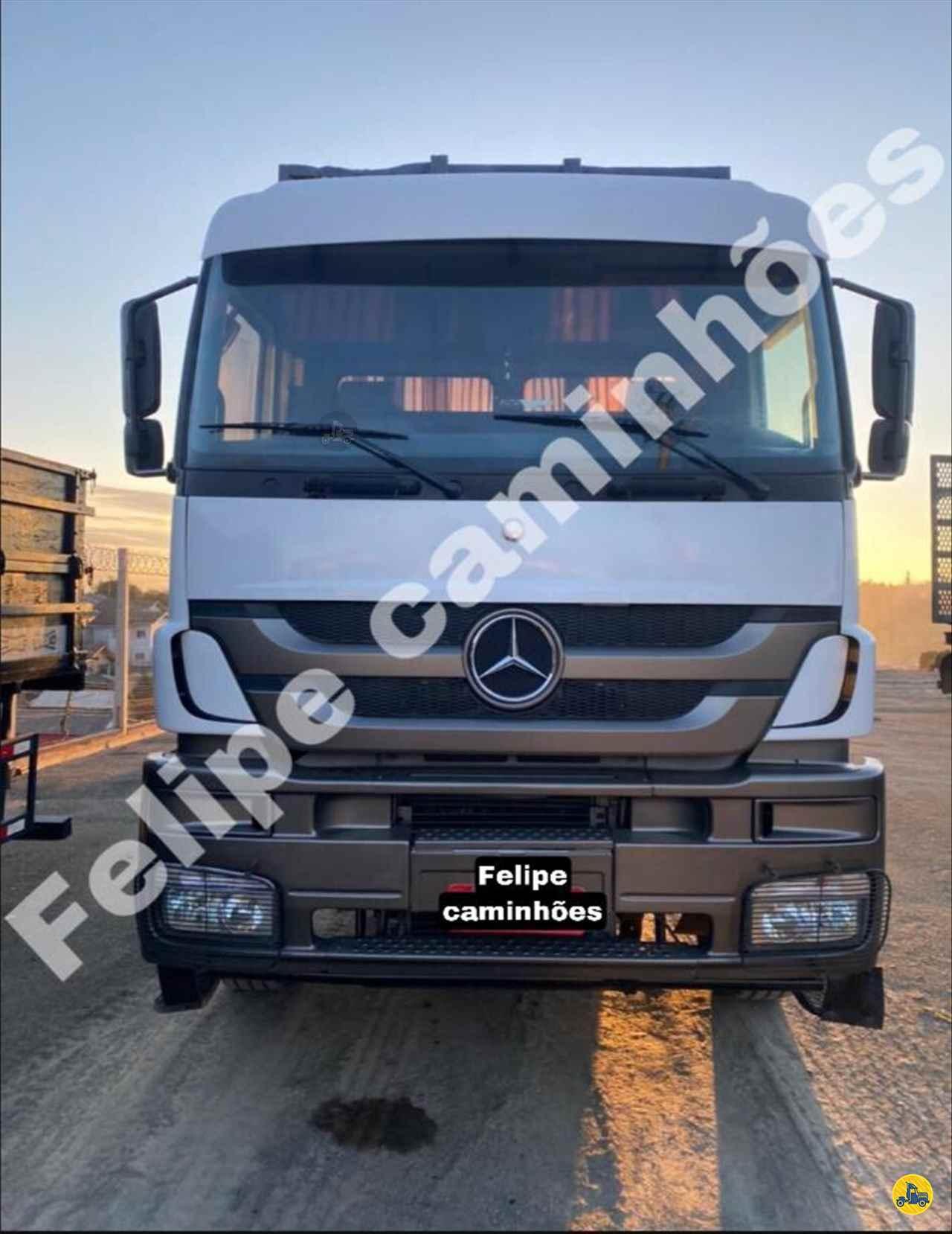 CAMINHAO MERCEDES-BENZ MB 3344 Plataforma Traçado 6x4 Felipe Caminhões LAGES SANTA CATARINA SC