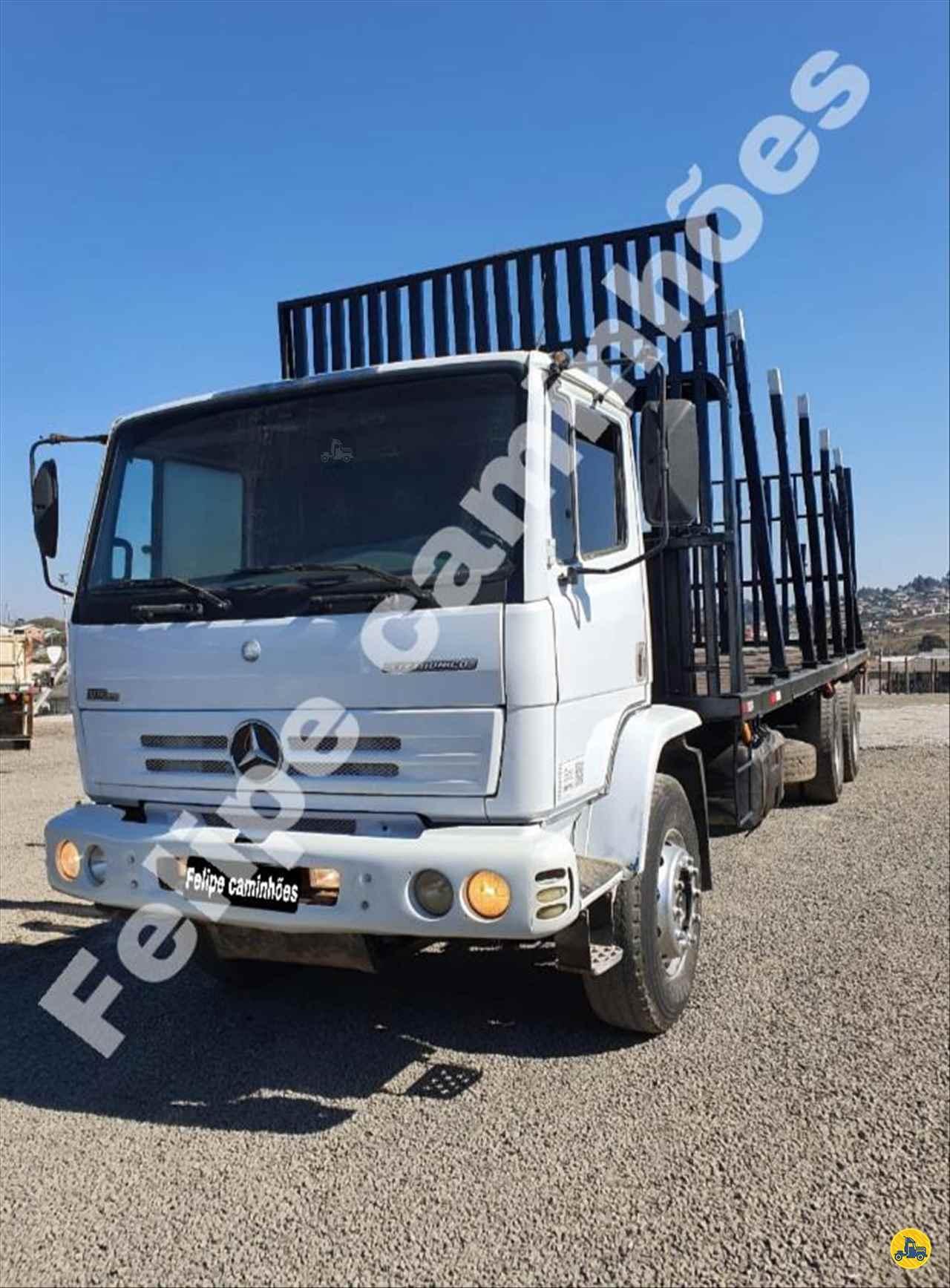CAMINHAO MERCEDES-BENZ MB 1728 Plataforma Traçado 6x4 Felipe Caminhões LAGES SANTA CATARINA SC