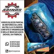 VÁRIOS BLOCOS PARCIAL DE MOTORES DA LINHA VALTRA 3,4,6 CILÍNDROS COM KITS E VIRABREQUIM E BIELAS E MANCAIS AGCO