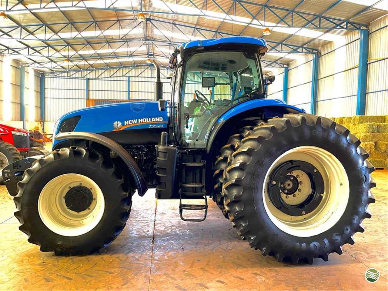 TRATOR NEW HOLLAND NEW T7 260 Tração 4x4 LR Máquinas MIGUELOPOLIS SÃO PAULO SP