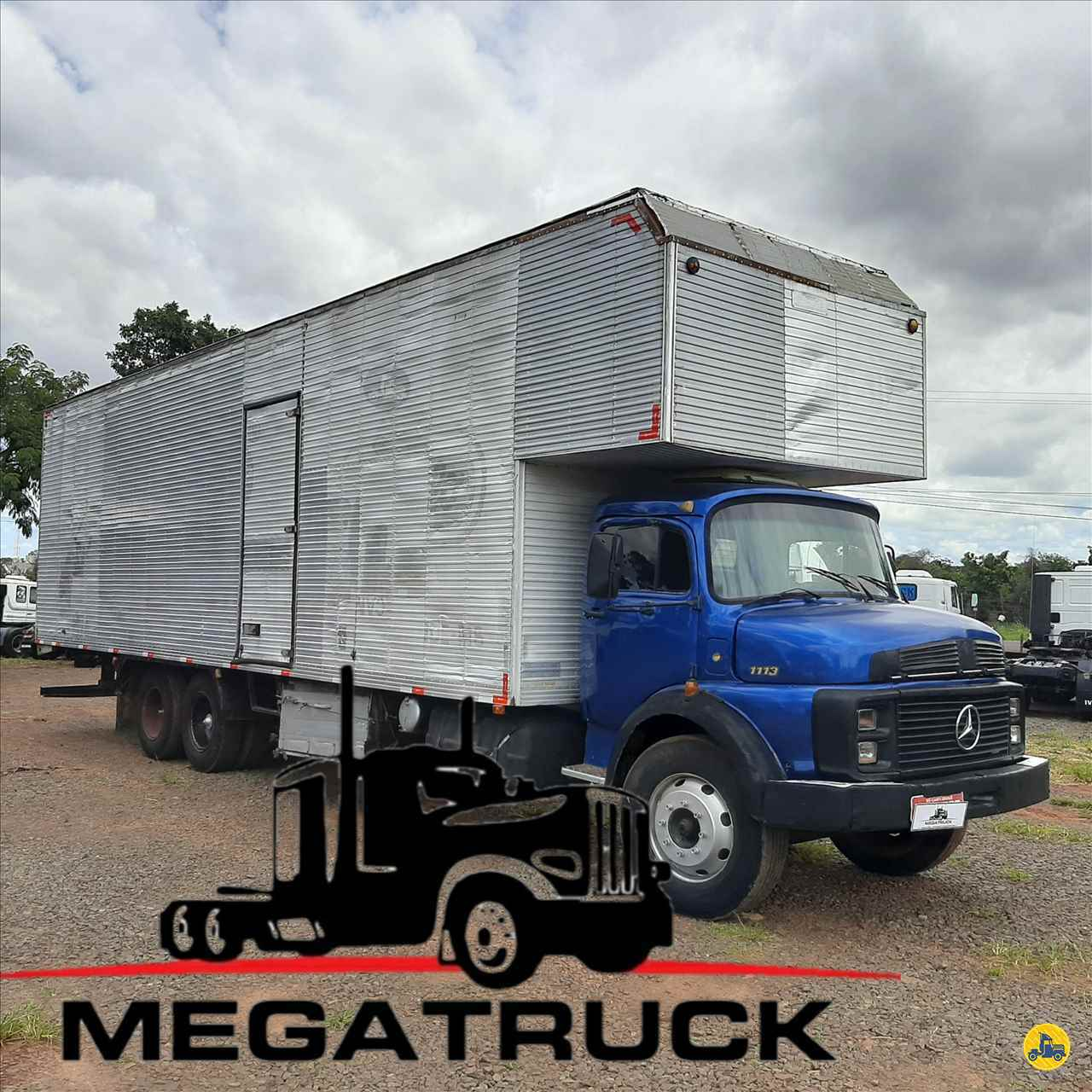 CAMINHAO MERCEDES-BENZ MB 1113 Baú Furgão Truck 6x2 Megatruck Caminhões e Máquinas CAMPO GRANDE MATO GROSSO DO SUL MS