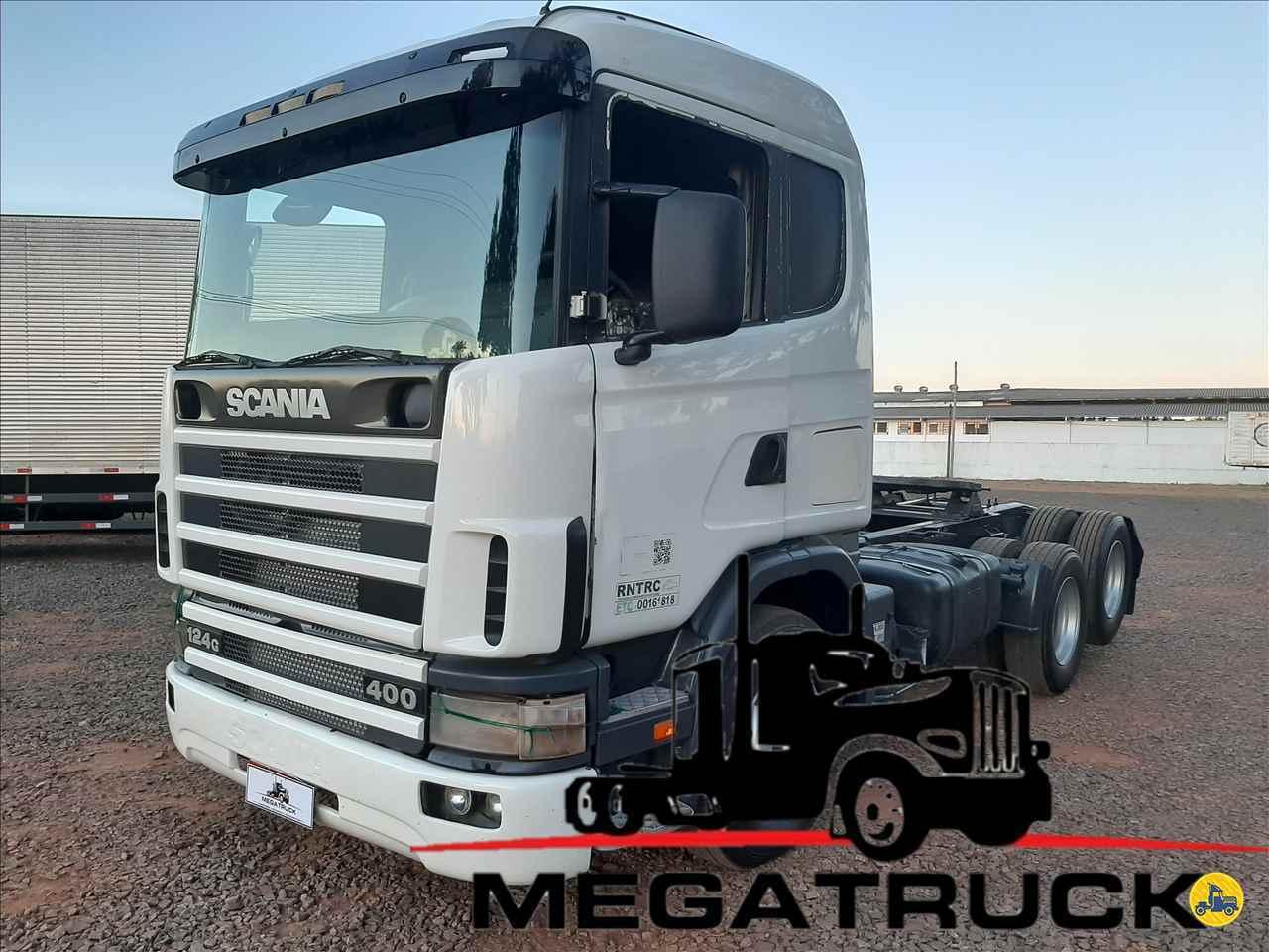 CAMINHAO SCANIA SCANIA 124 400 Cavalo Mecânico Truck 6x2 Megatruck Caminhões e Máquinas CAMPO GRANDE MATO GROSSO DO SUL MS