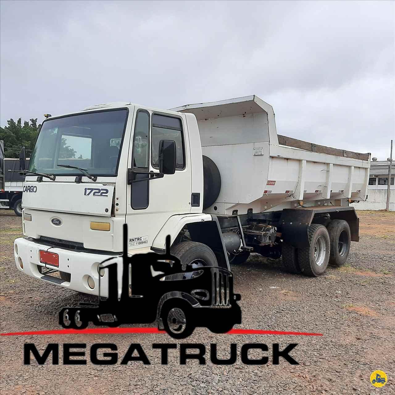 CAMINHAO FORD CARGO 1722 Caçamba Basculante Truck 6x2 Megatruck Caminhões e Máquinas CAMPO GRANDE MATO GROSSO DO SUL MS