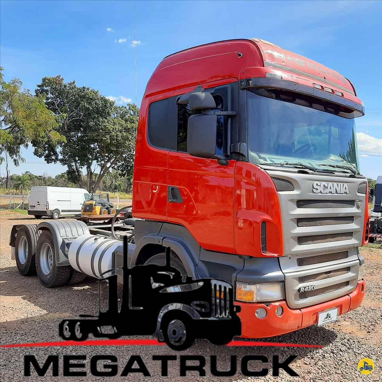 CAMINHAO SCANIA SCANIA 420 Cavalo Mecânico Truck 6x2 Megatruck Caminhões e Máquinas CAMPO GRANDE MATO GROSSO DO SUL MS