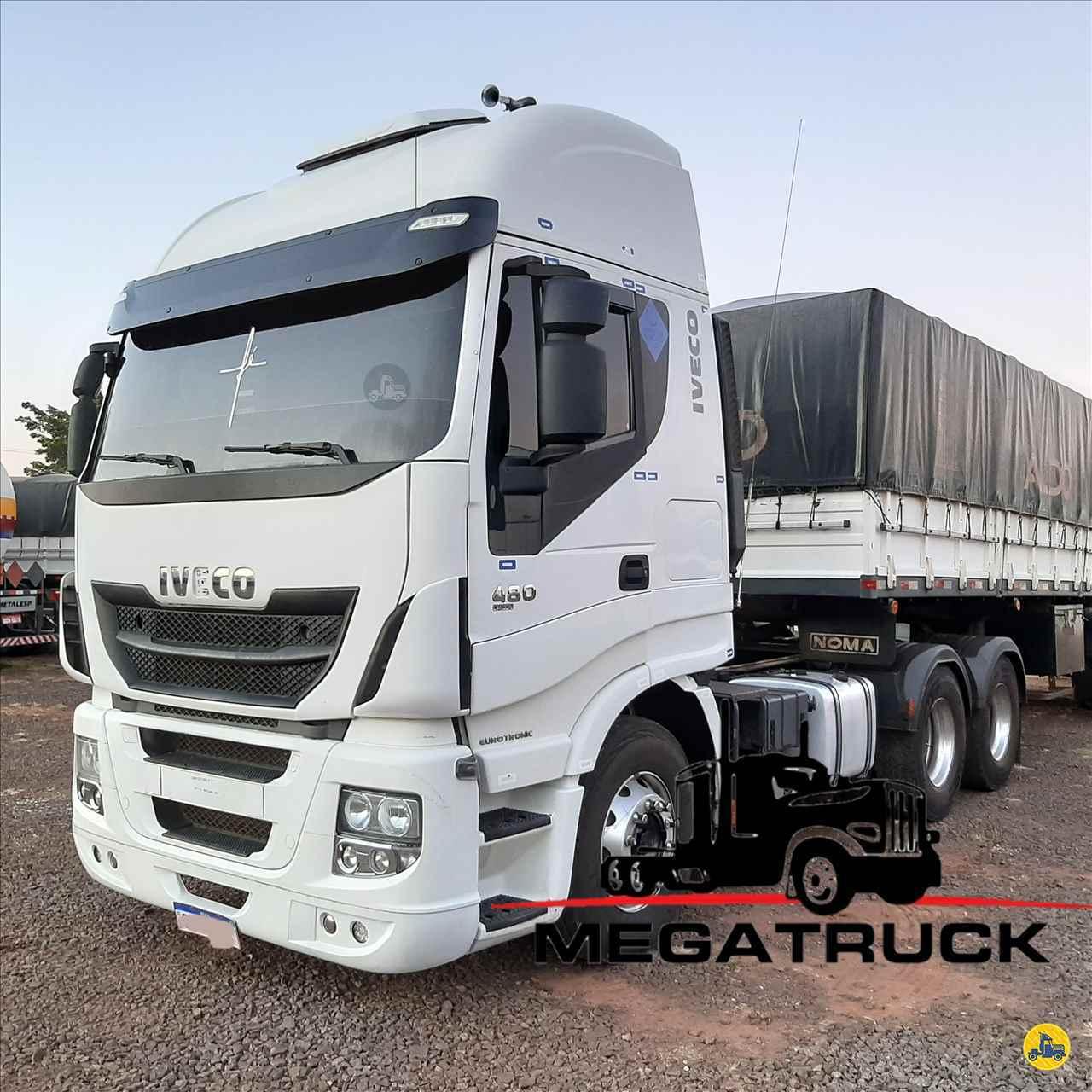 CAMINHAO IVECO STRALIS 480 Cavalo Mecânico Traçado 6x4 Megatruck Caminhões e Máquinas CAMPO GRANDE MATO GROSSO DO SUL MS