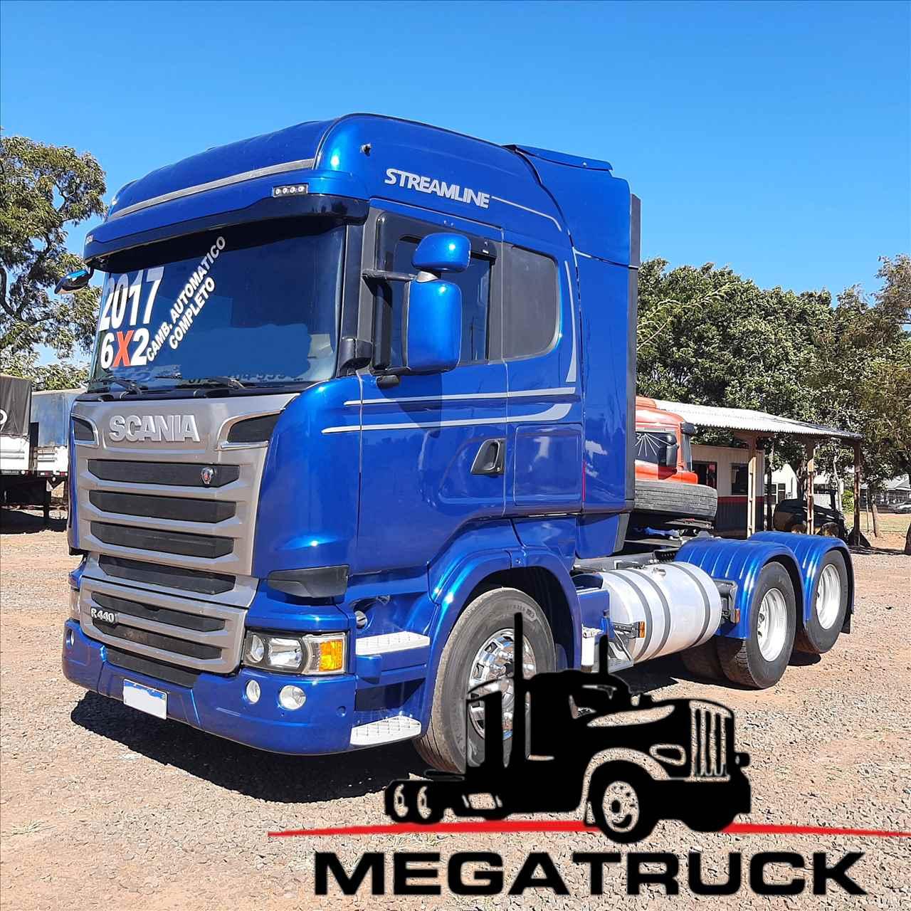 CAMINHAO SCANIA SCANIA 440 Cavalo Mecânico Truck 6x2 Megatruck Caminhões e Máquinas CAMPO GRANDE MATO GROSSO DO SUL MS