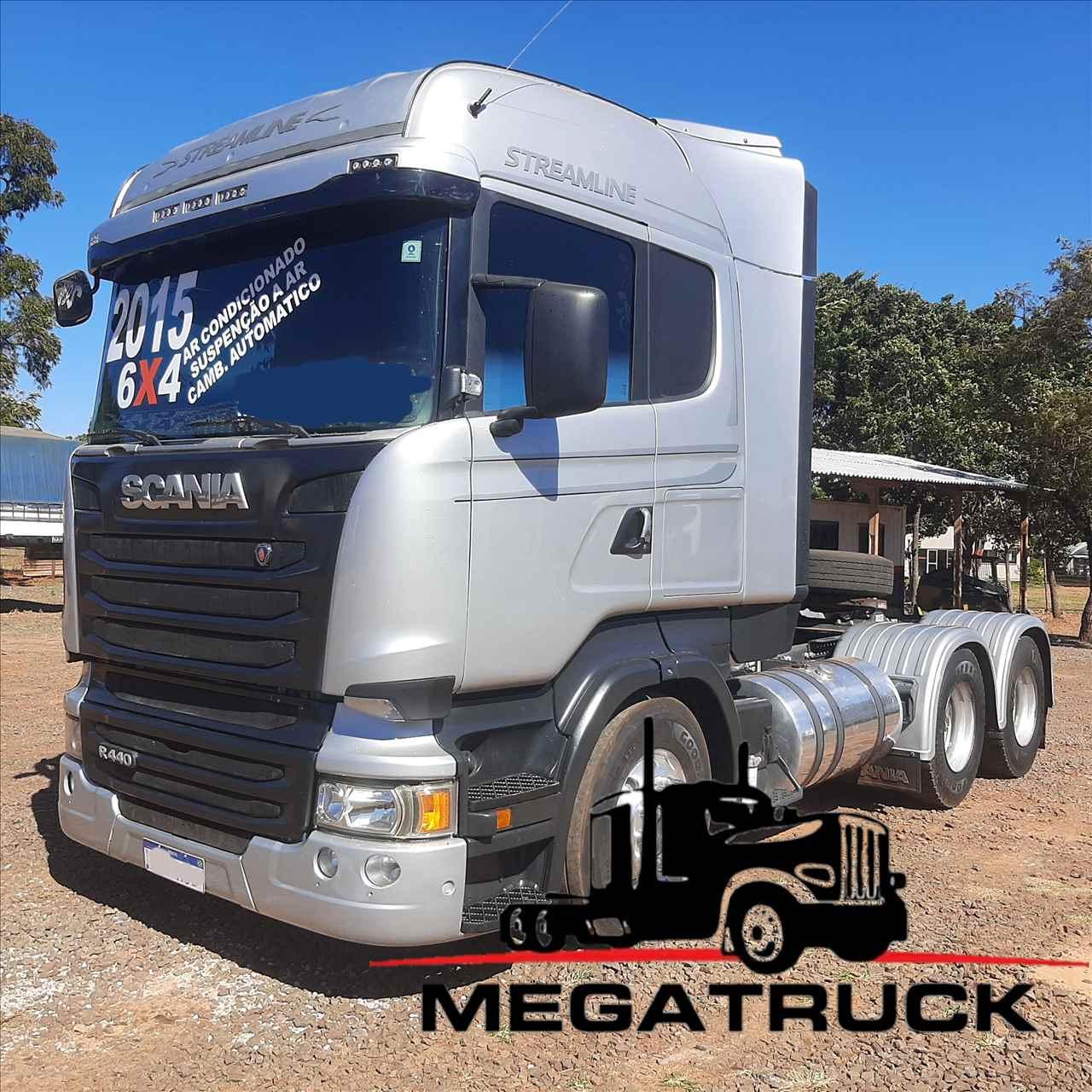 CAMINHAO SCANIA SCANIA 440 Cavalo Mecânico Traçado 6x4 Megatruck Caminhões e Máquinas CAMPO GRANDE MATO GROSSO DO SUL MS