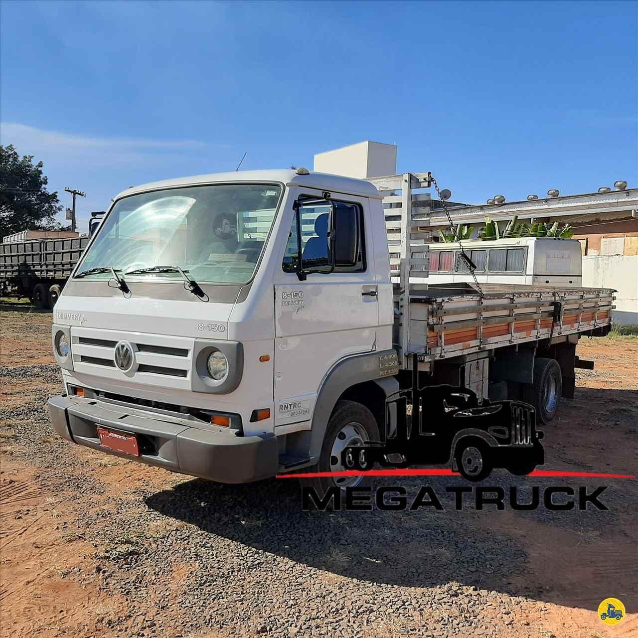 CAMINHAO VOLKSWAGEN VW 8150 Carga Seca 3/4 4x2 Megatruck Caminhões e Máquinas CAMPO GRANDE MATO GROSSO DO SUL MS