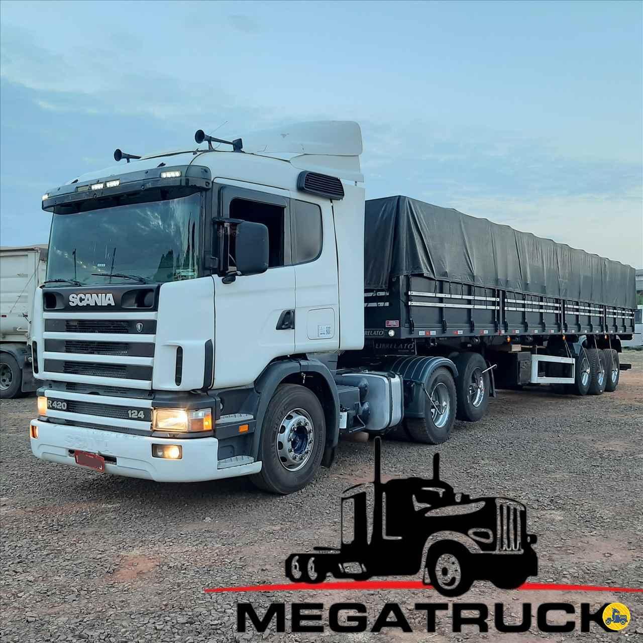 CAMINHAO SCANIA SCANIA 124 420 Cavalo Mecânico Truck 6x2 Megatruck Caminhões e Máquinas CAMPO GRANDE MATO GROSSO DO SUL MS