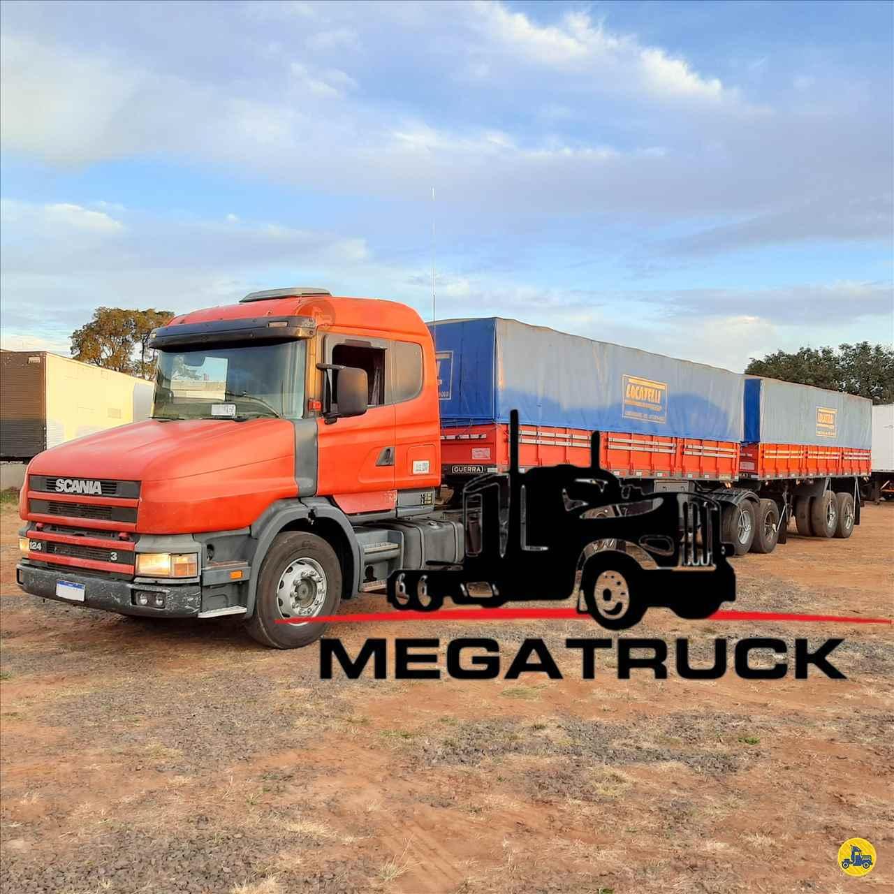 CAMINHAO SCANIA SCANIA 124 360 Cavalo Mecânico Truck 6x2 Megatruck Caminhões e Máquinas CAMPO GRANDE MATO GROSSO DO SUL MS