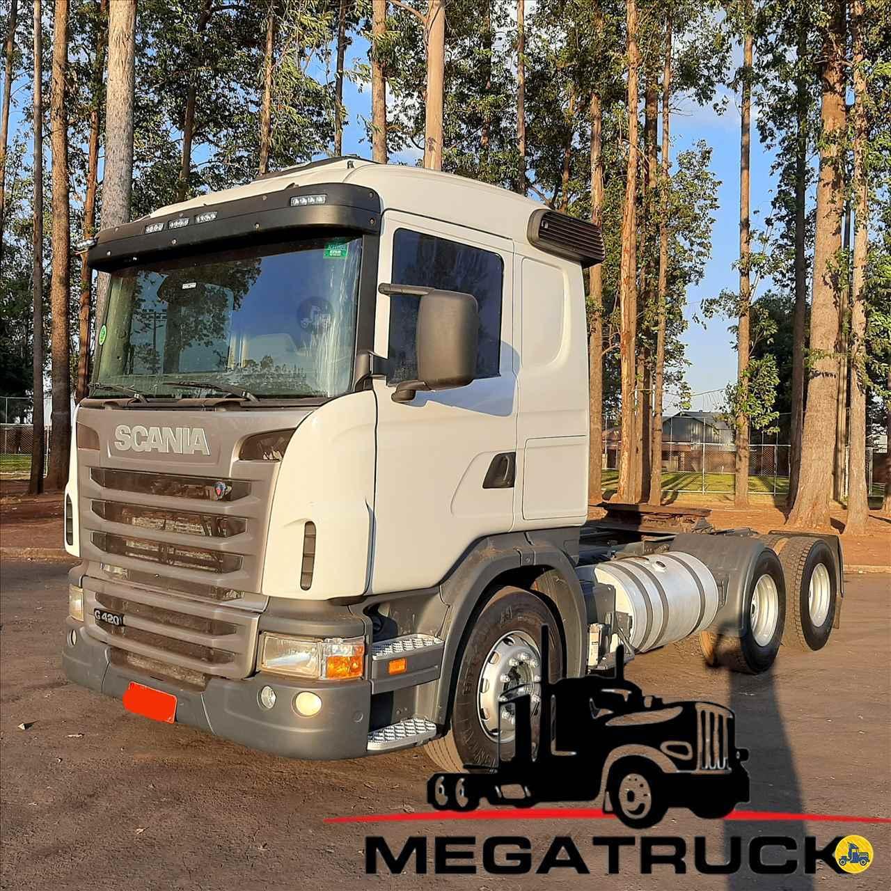 CAMINHAO SCANIA SCANIA 420 Cavalo Mecânico Traçado 6x4 Megatruck Caminhões e Máquinas CAMPO GRANDE MATO GROSSO DO SUL MS