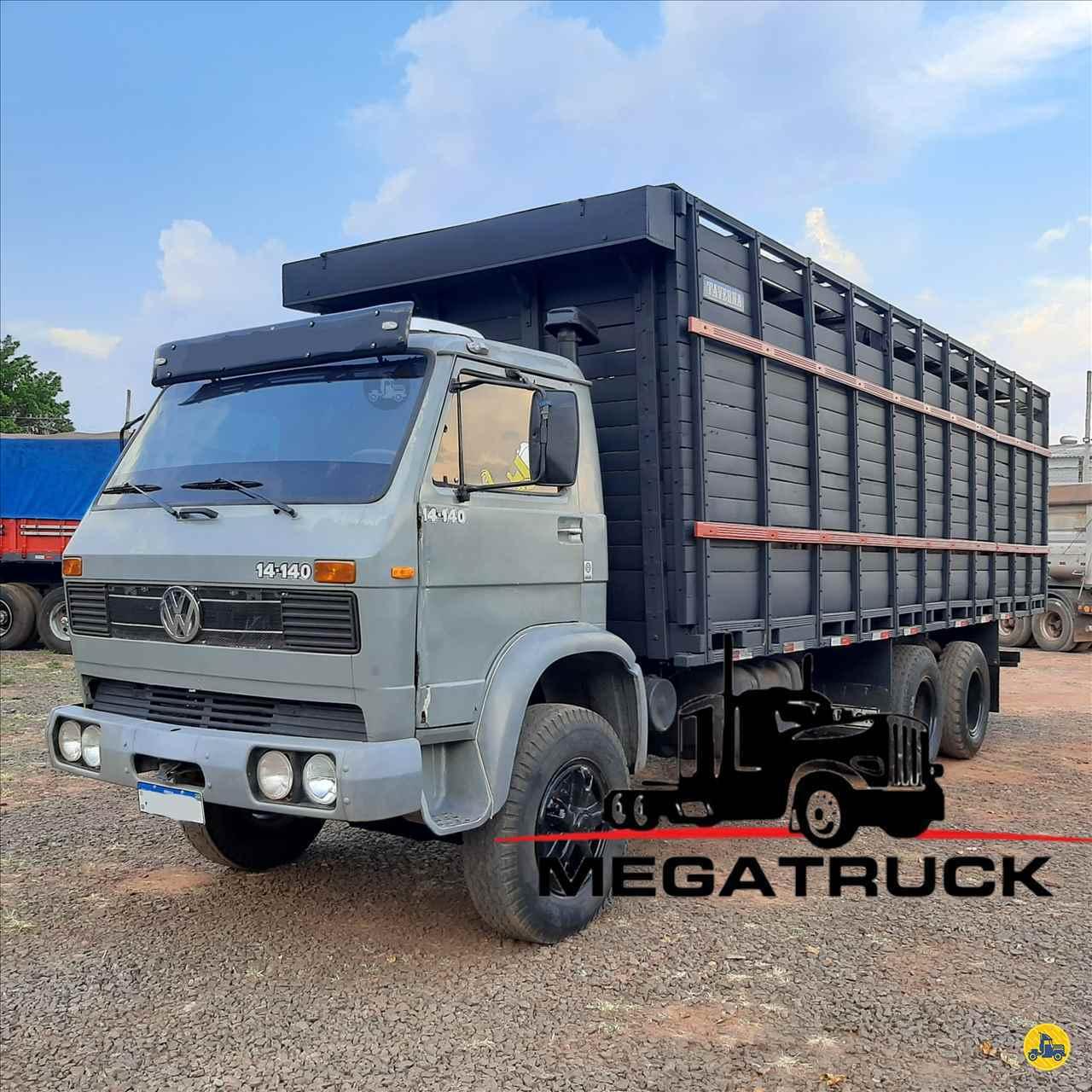 CAMINHAO VOLKSWAGEN VW 14140 Boiadeiro Truck 6x2 Megatruck Caminhões e Máquinas CAMPO GRANDE MATO GROSSO DO SUL MS