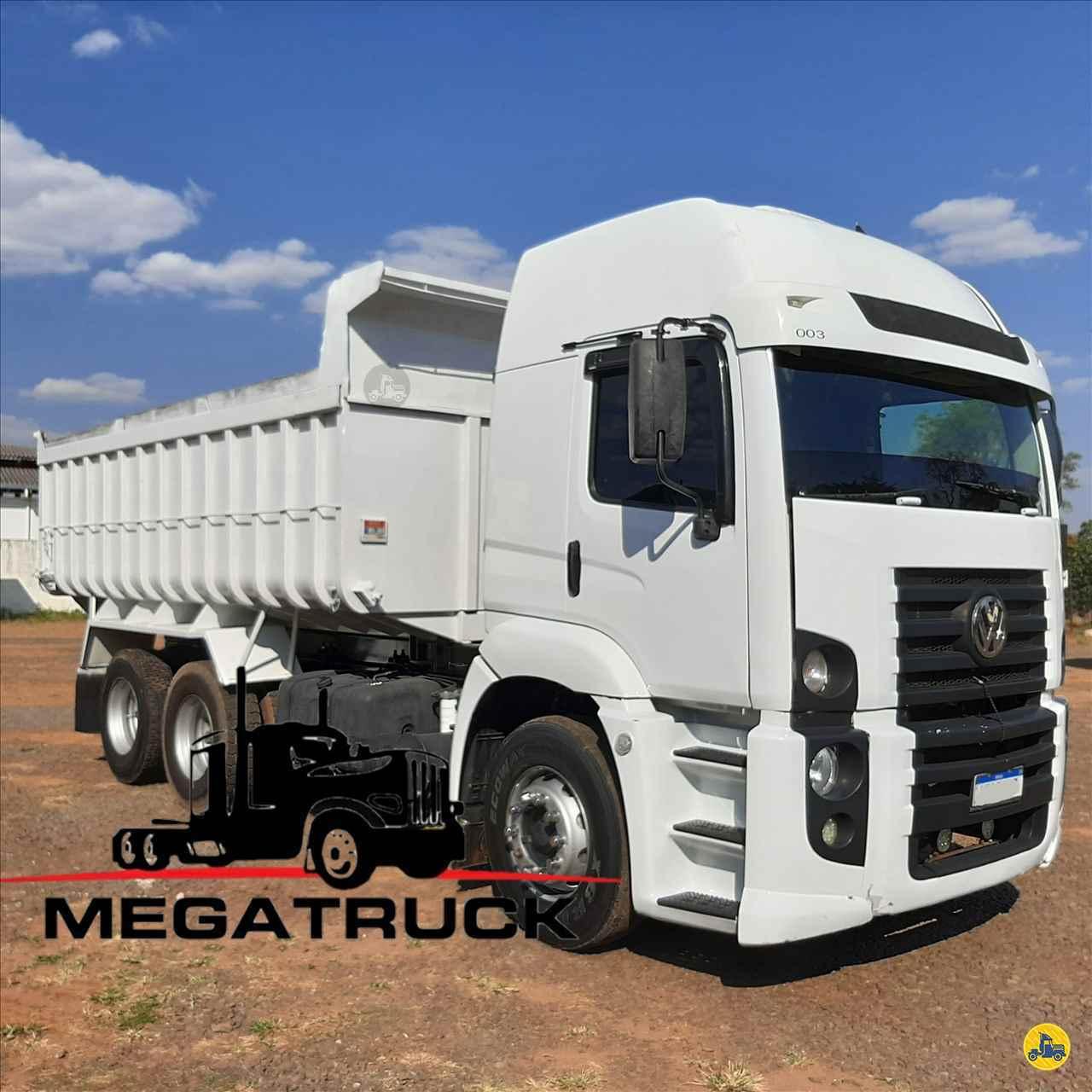 CAMINHAO VOLKSWAGEN VW 24280 Caçamba Basculante Truck 6x2 Megatruck Caminhões e Máquinas CAMPO GRANDE MATO GROSSO DO SUL MS