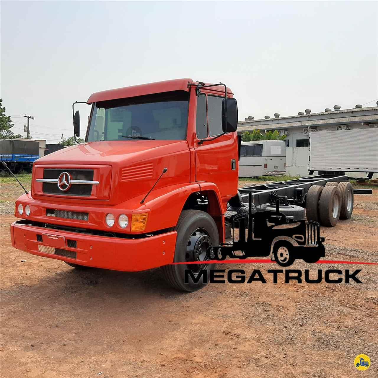 CAMINHAO MERCEDES-BENZ MB 1620 Chassis Truck 6x2 Megatruck Caminhões e Máquinas CAMPO GRANDE MATO GROSSO DO SUL MS