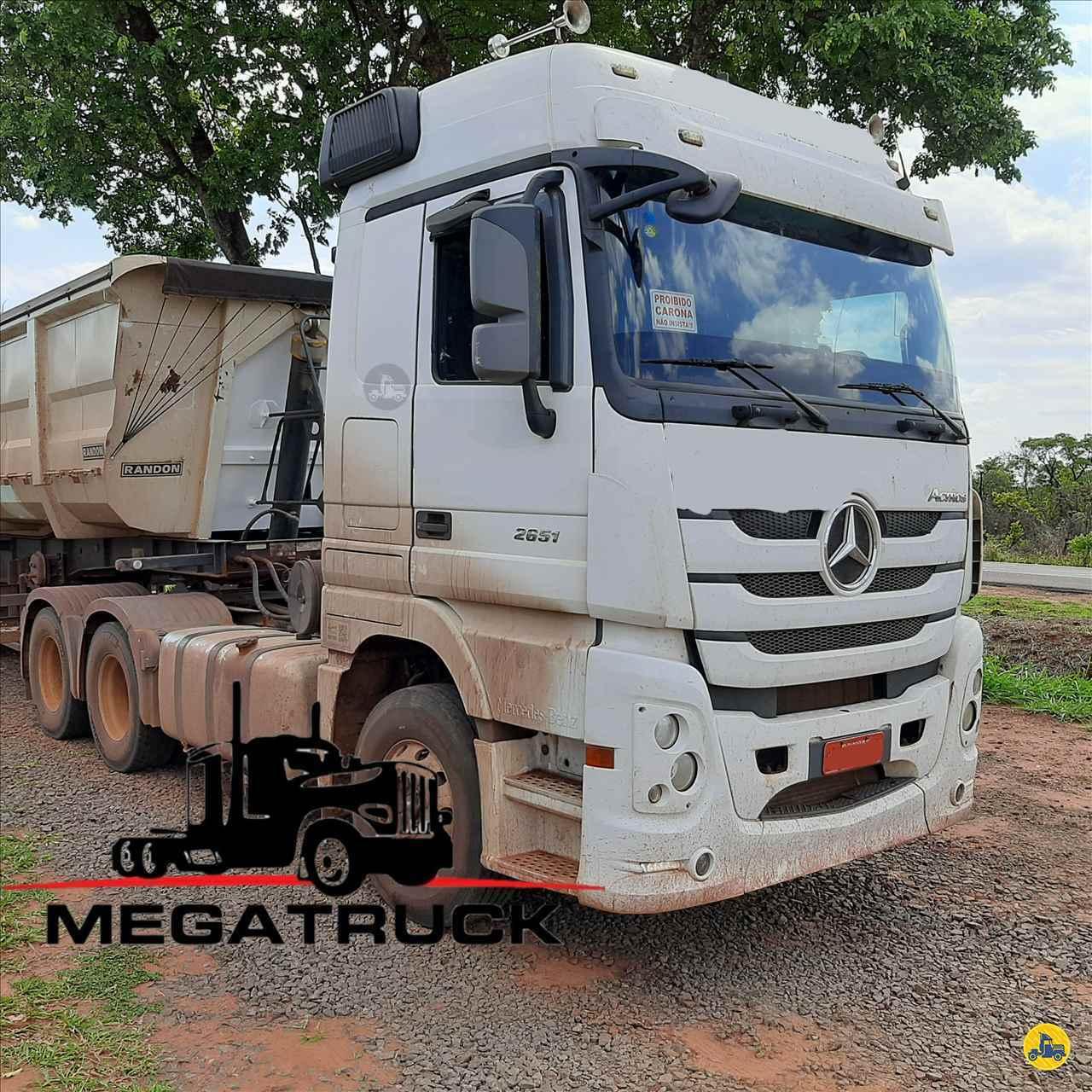 CAMINHAO MERCEDES-BENZ MB 2651 Cavalo Mecânico Traçado 6x4 Megatruck Caminhões e Máquinas CAMPO GRANDE MATO GROSSO DO SUL MS