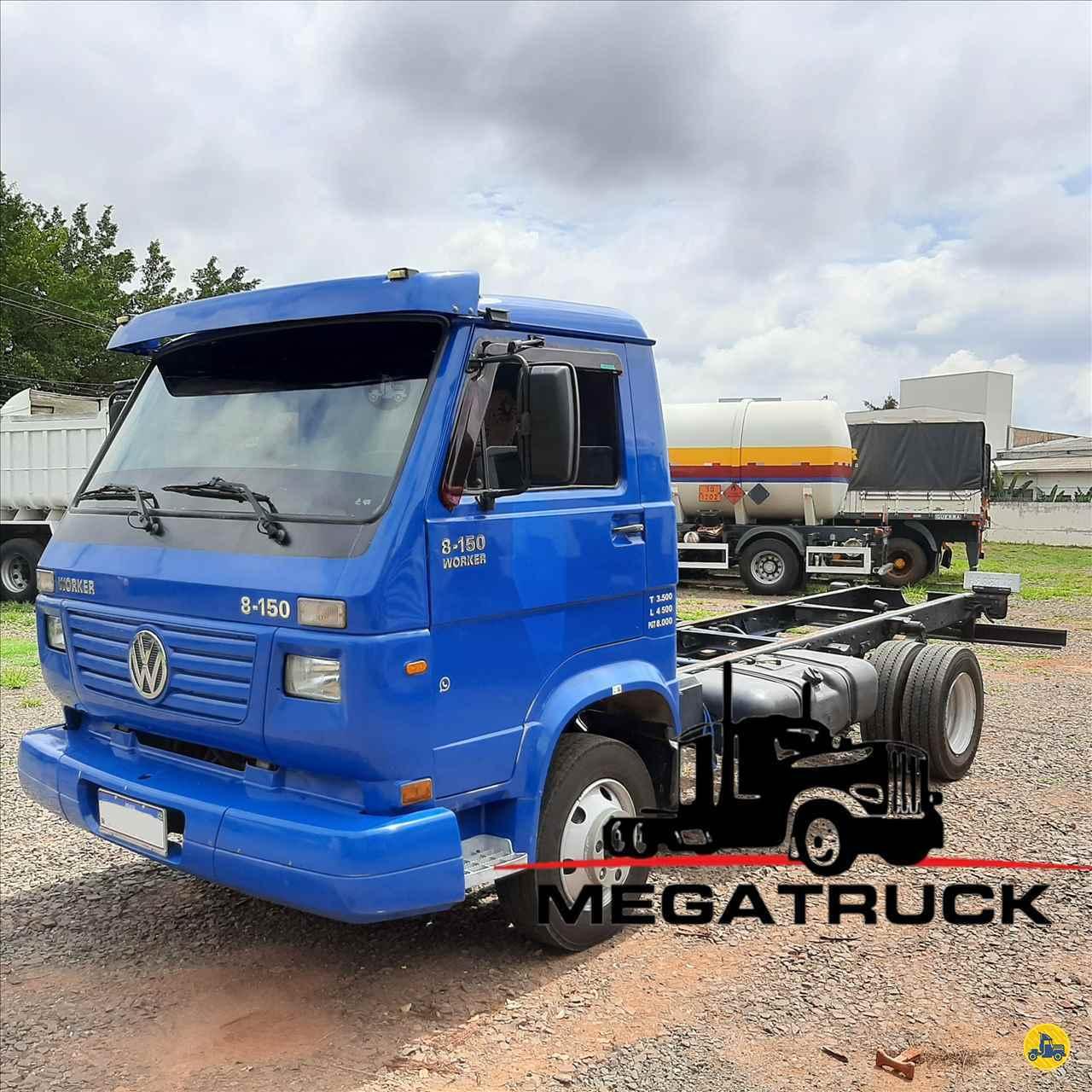 CAMINHAO VOLKSWAGEN VW 8150 Chassis 3/4 4x2 Megatruck Caminhões e Máquinas CAMPO GRANDE MATO GROSSO DO SUL MS