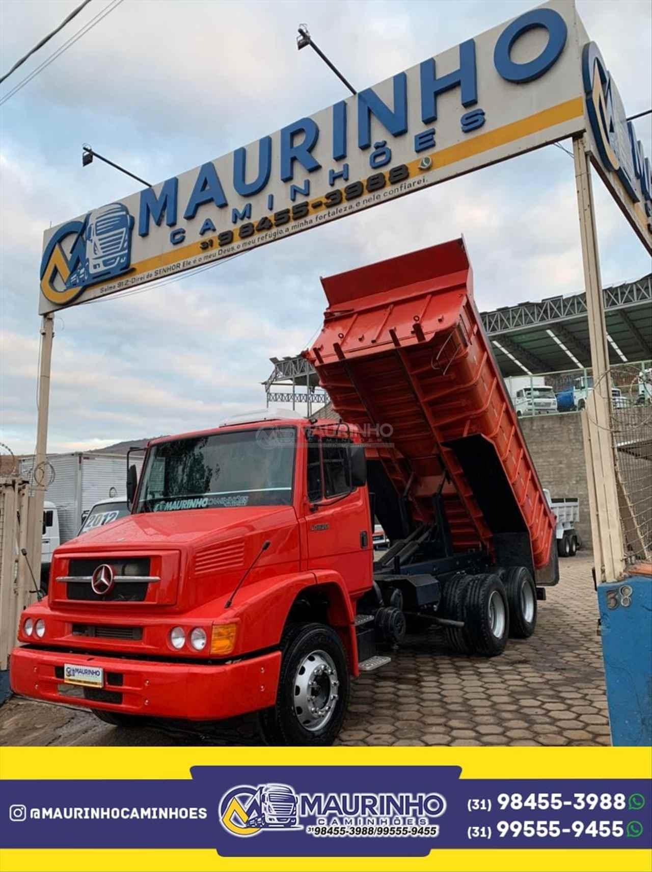 CAMINHAO MERCEDES-BENZ MB 1620 Caçamba Basculante Truck 6x2 Maurinho Caminhões JOAO MONLEVADE MINAS GERAIS MG