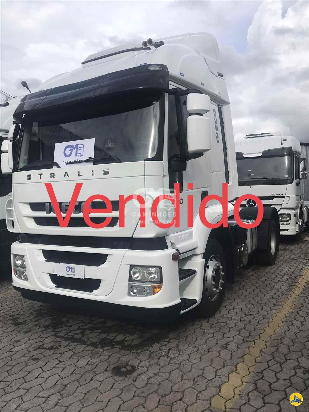 CAMINHAO IVECO STRALIS 440 Cavalo Mecânico Toco 4x2 GM Caminhões CURITIBA PARANÁ PR
