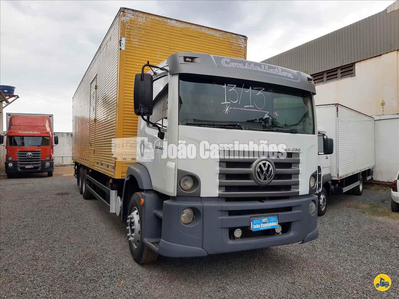 CAMINHAO VOLKSWAGEN VW 24280 Baú Furgão Truck 6x2 João Caminhões BRASILIA DISTRITO FEDERAL DF