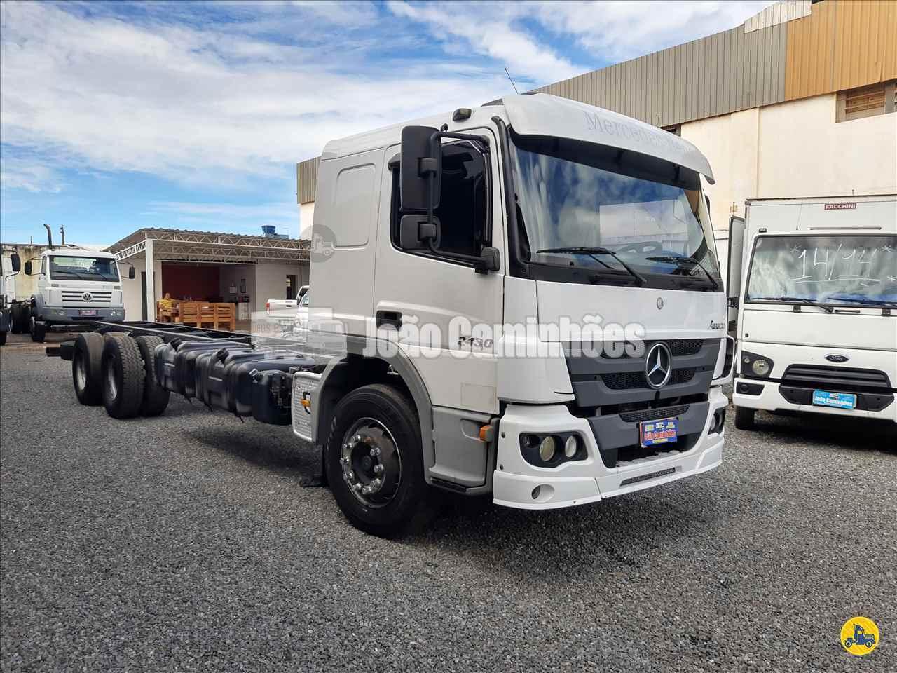 CAMINHAO MERCEDES-BENZ MB 2430 Chassis Truck 6x2 João Caminhões BRASILIA DISTRITO FEDERAL DF