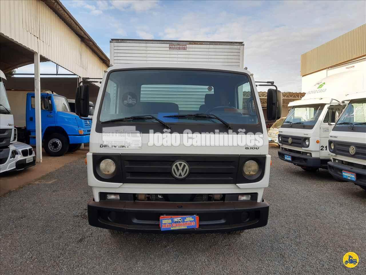 CAMINHAO VOLKSWAGEN VW 8160 Baú Furgão 3/4 4x2 João Caminhões BRASILIA DISTRITO FEDERAL DF