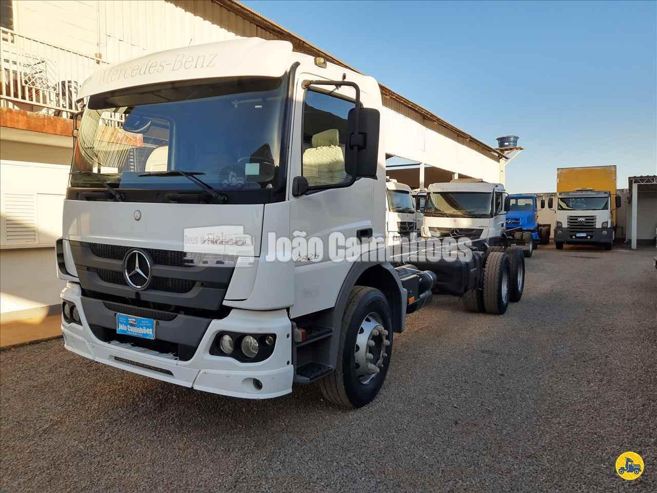 CAMINHAO MERCEDES-BENZ MB 2426 Chassis Truck 6x2 João Caminhões BRASILIA DISTRITO FEDERAL DF