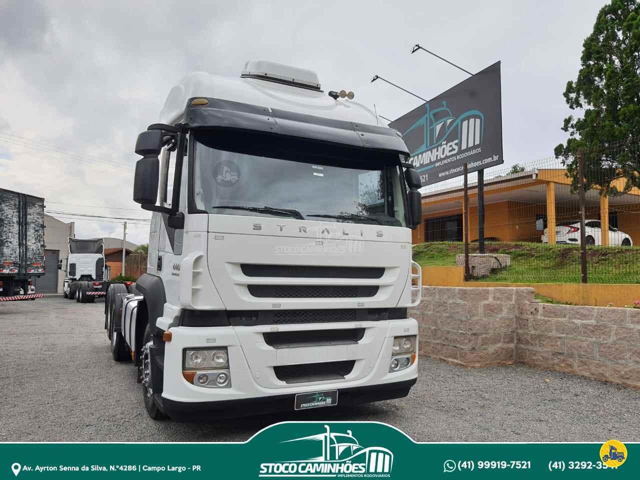 CAMINHAO IVECO STRALIS 440 Cavalo Mecânico Truck 6x2 Stoco Caminhões  CAMPO LARGO PARANÁ PR