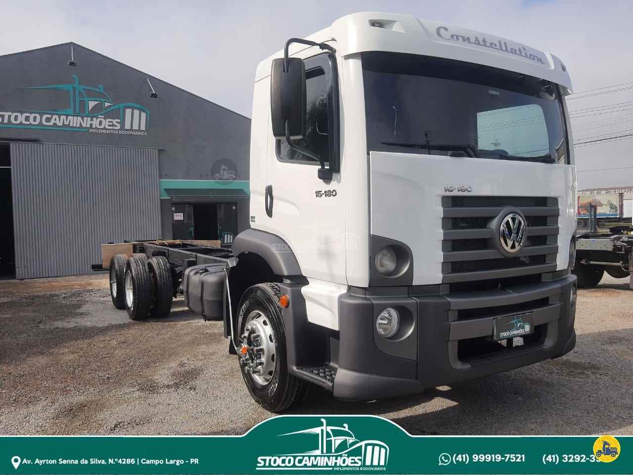 CAMINHAO VOLKSWAGEN VW 15180 Chassis Truck 6x2 Stoco Caminhões  CAMPO LARGO PARANÁ PR