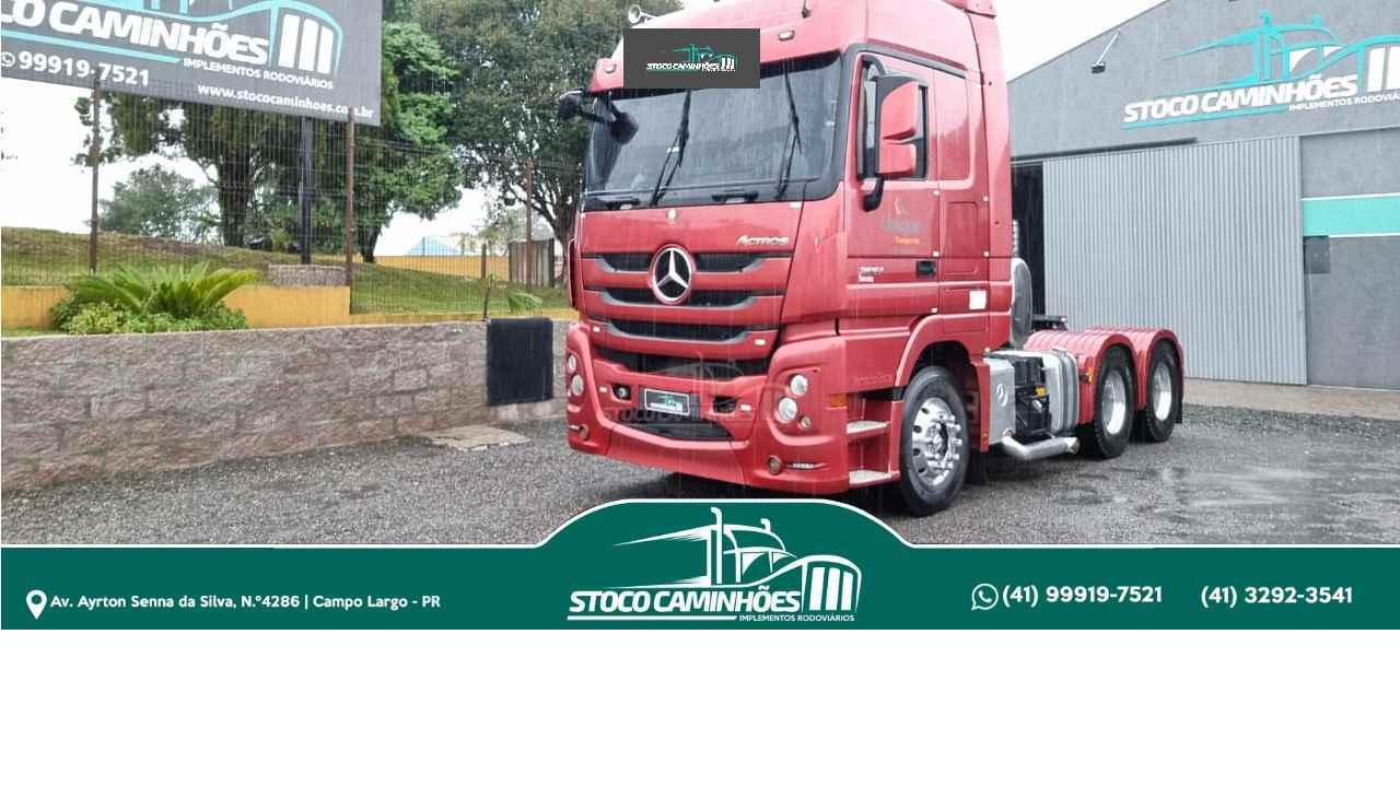 MB 2651 de Stoco Caminhões  - CAMPO LARGO/PR