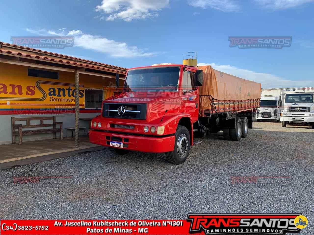CAMINHAO MERCEDES-BENZ MB 1620 Graneleiro Truck 6x2 TransSantos Seminovos PATOS DE MINAS MINAS GERAIS MG