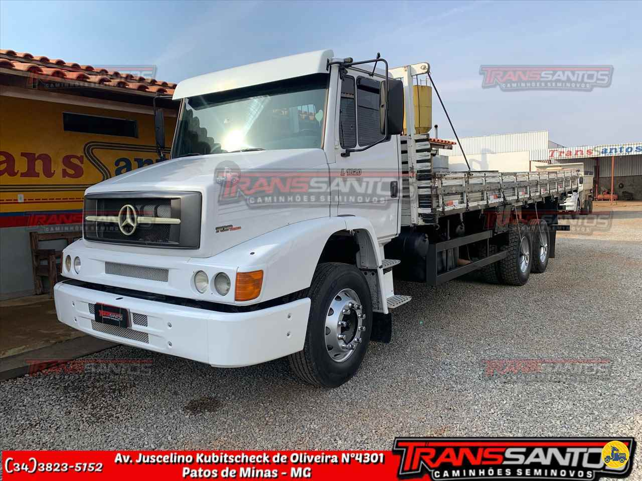 CAMINHAO MERCEDES-BENZ MB 1620 Carga Seca Truck 6x2 TransSantos Seminovos PATOS DE MINAS MINAS GERAIS MG