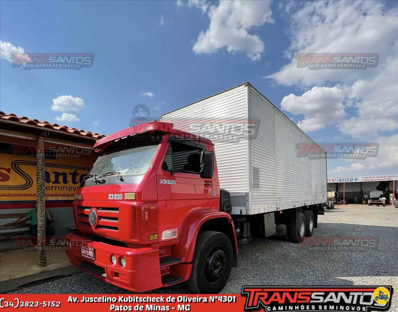 CAMINHAO VOLKSWAGEN VW 23220 Chassis Truck 6x2 TransSantos Seminovos PATOS DE MINAS MINAS GERAIS MG