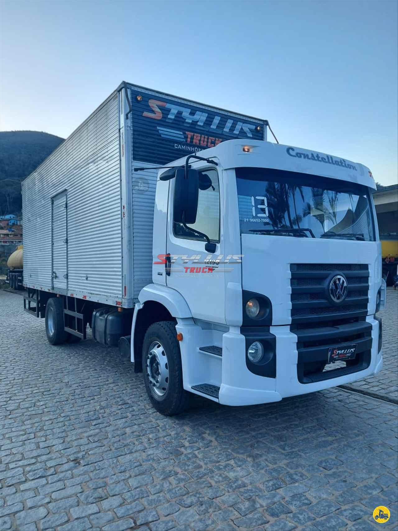 CAMINHAO VOLKSWAGEN VW 17190 Baú Furgão Toco 4x2 Styllus Truck TERESOPOLIS RIO DE JANEIRO RJ