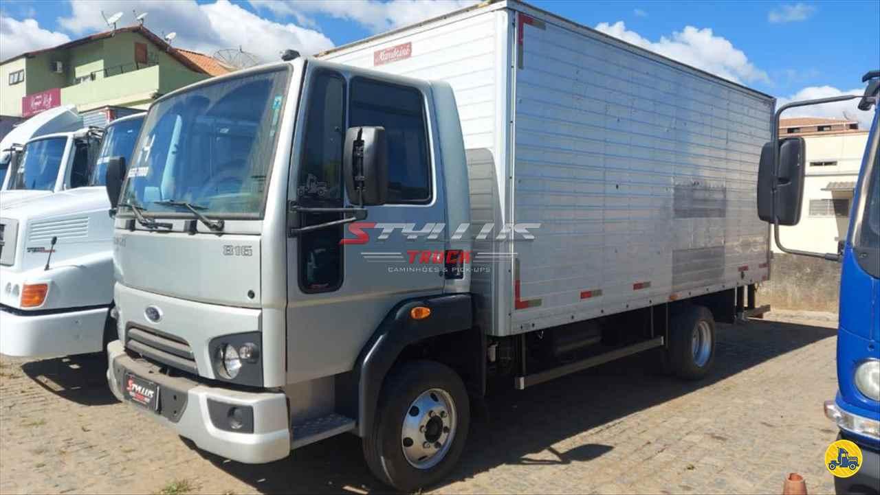 CAMINHAO FORD CARGO 816 Baú Furgão 3/4 4x2 Styllus Truck TERESOPOLIS RIO DE JANEIRO RJ