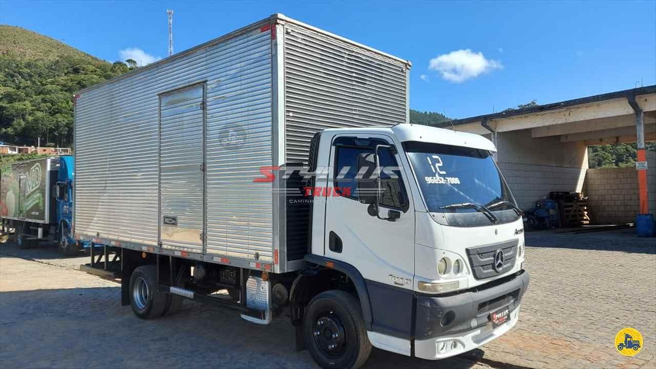 CAMINHAO MERCEDES-BENZ MB 1016 Baú Furgão 3/4 4x2 Styllus Truck TERESOPOLIS RIO DE JANEIRO RJ