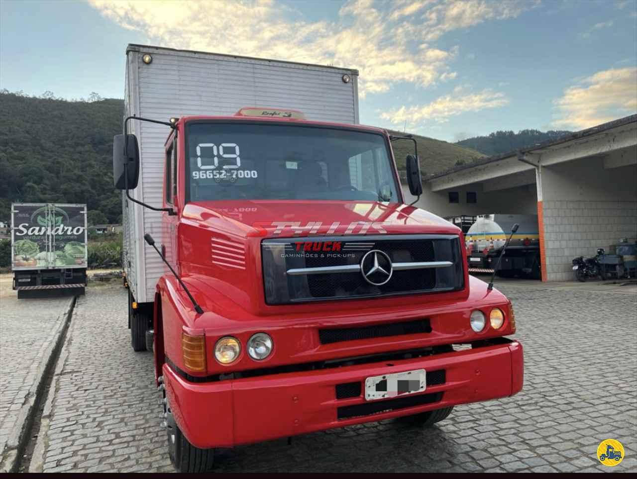 CAMINHAO MERCEDES-BENZ MB 1318 Baú Furgão Toco 4x2 Styllus Truck TERESOPOLIS RIO DE JANEIRO RJ