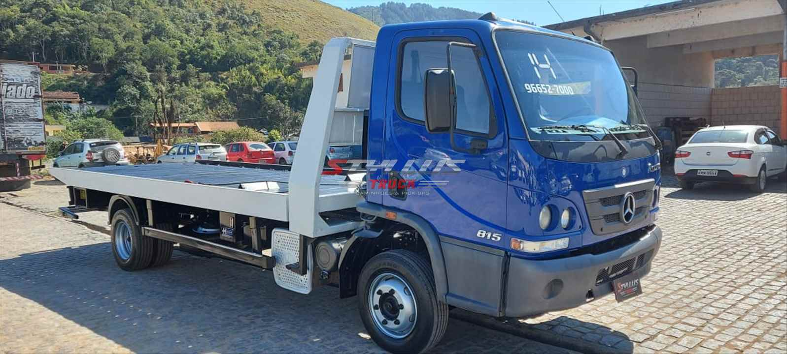 CAMINHAO MERCEDES-BENZ MB 815 Plataforma Guincho 3/4 4x2 Styllus Truck TERESOPOLIS RIO DE JANEIRO RJ