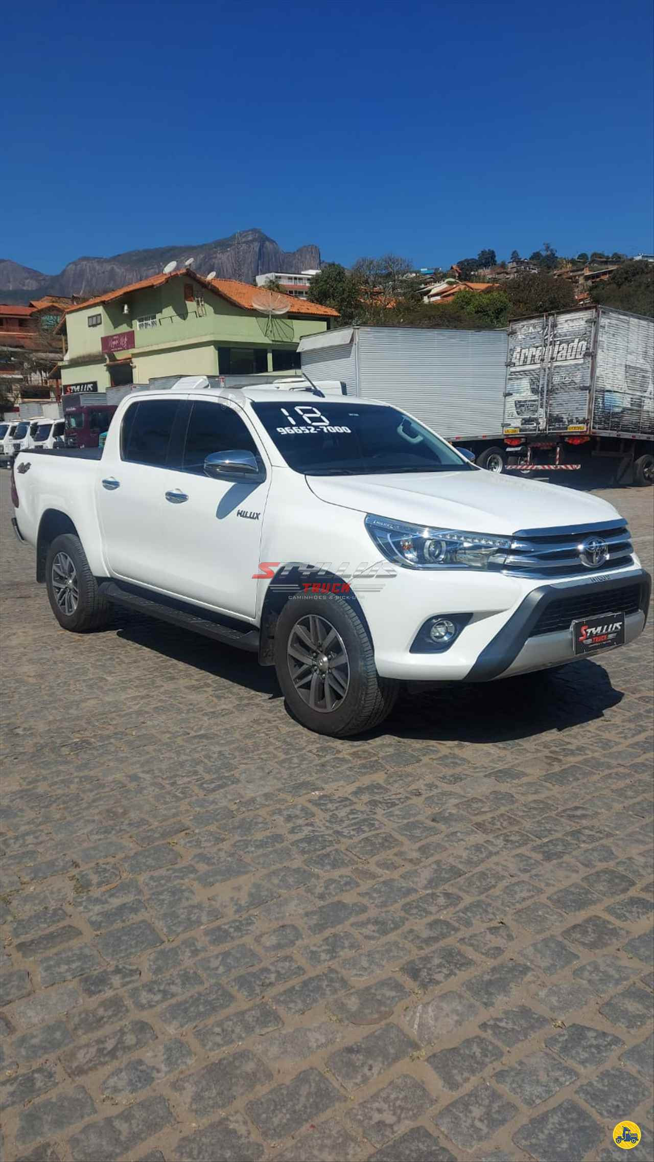 CARRO TOYOTA Hilux 2.8 SRX Styllus Truck TERESOPOLIS RIO DE JANEIRO RJ