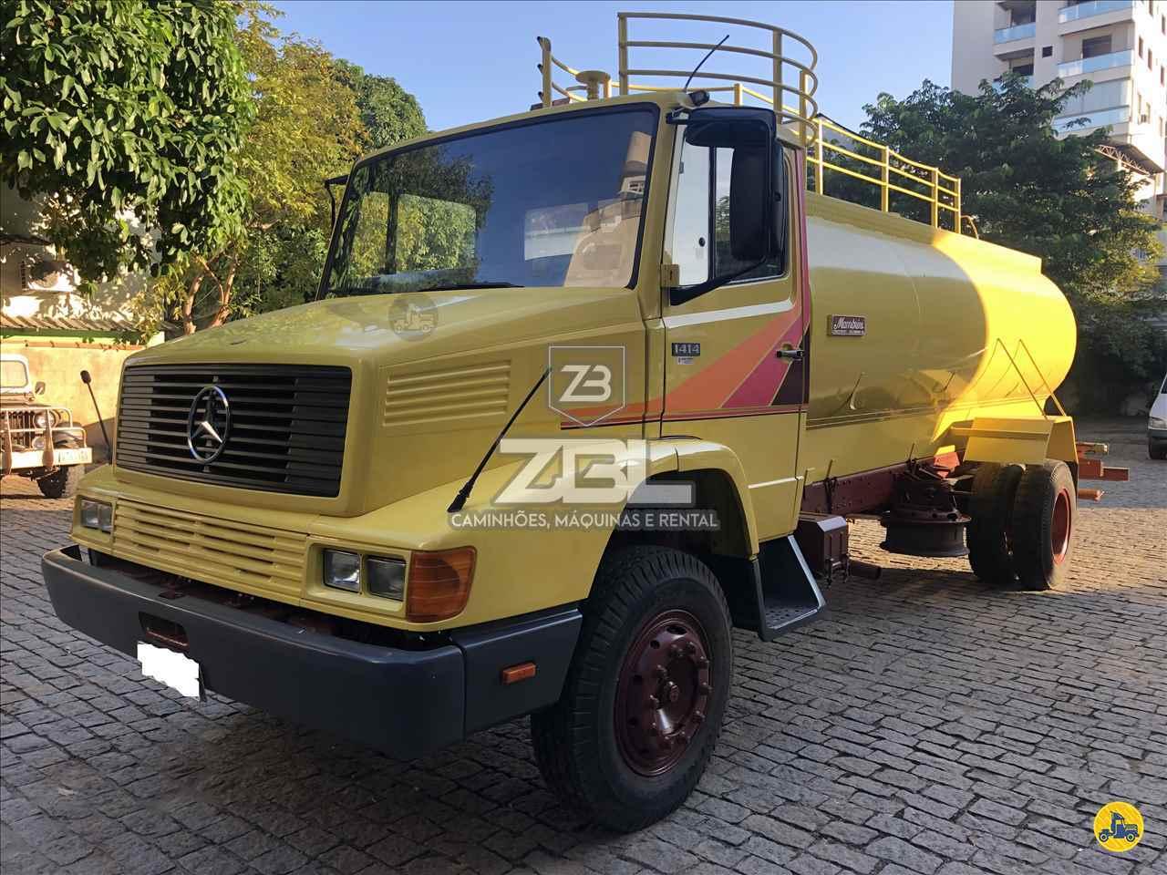 CAMINHAO MERCEDES-BENZ MB 1414 Tanque Pipa Toco 4x2 ZBL Caminhões CASTELO ESPÍRITO SANTO ES