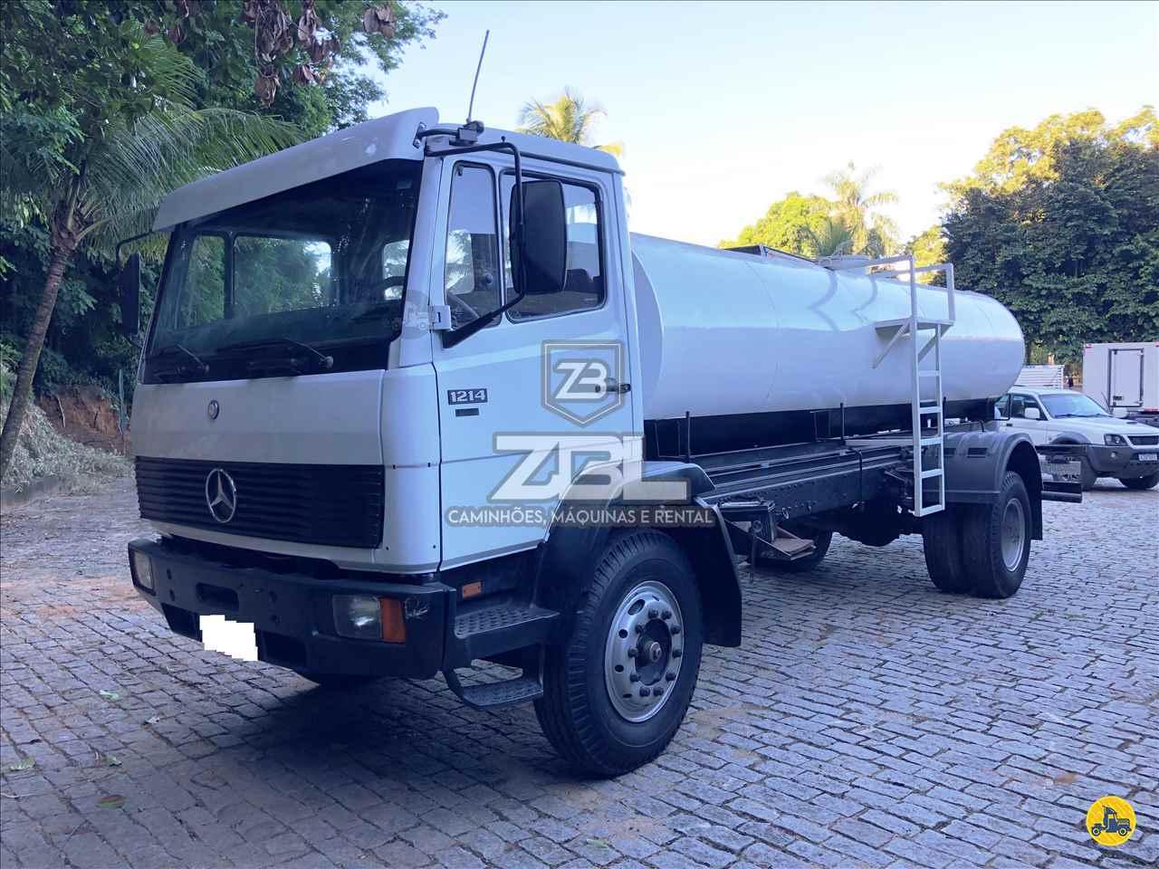 CAMINHAO MERCEDES-BENZ MB 1214 Tanque Pipa Toco 4x2 ZBL Caminhões CASTELO ESPÍRITO SANTO ES