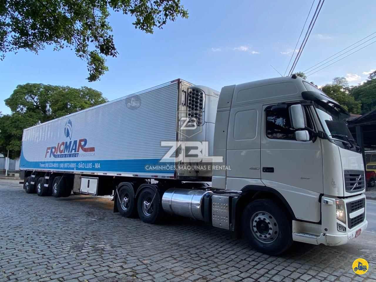 CAMINHAO VOLVO VOLVO FH 460 Baú Frigorífico Truck 6x2 ZBL Caminhões CASTELO ESPÍRITO SANTO ES