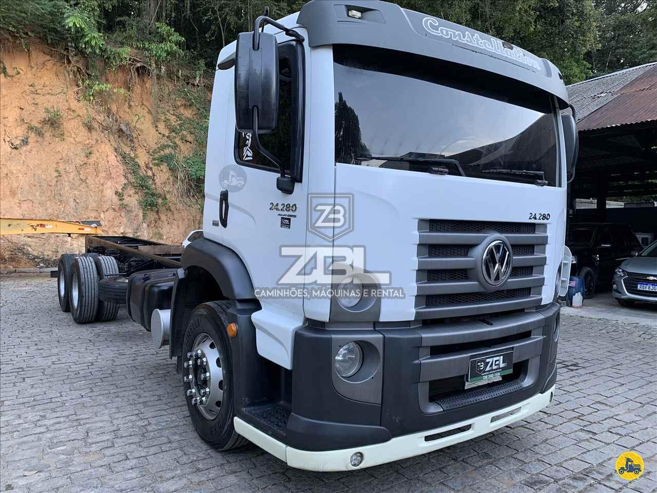 VW 24280 de ZBL Caminhões - CASTELO/ES
