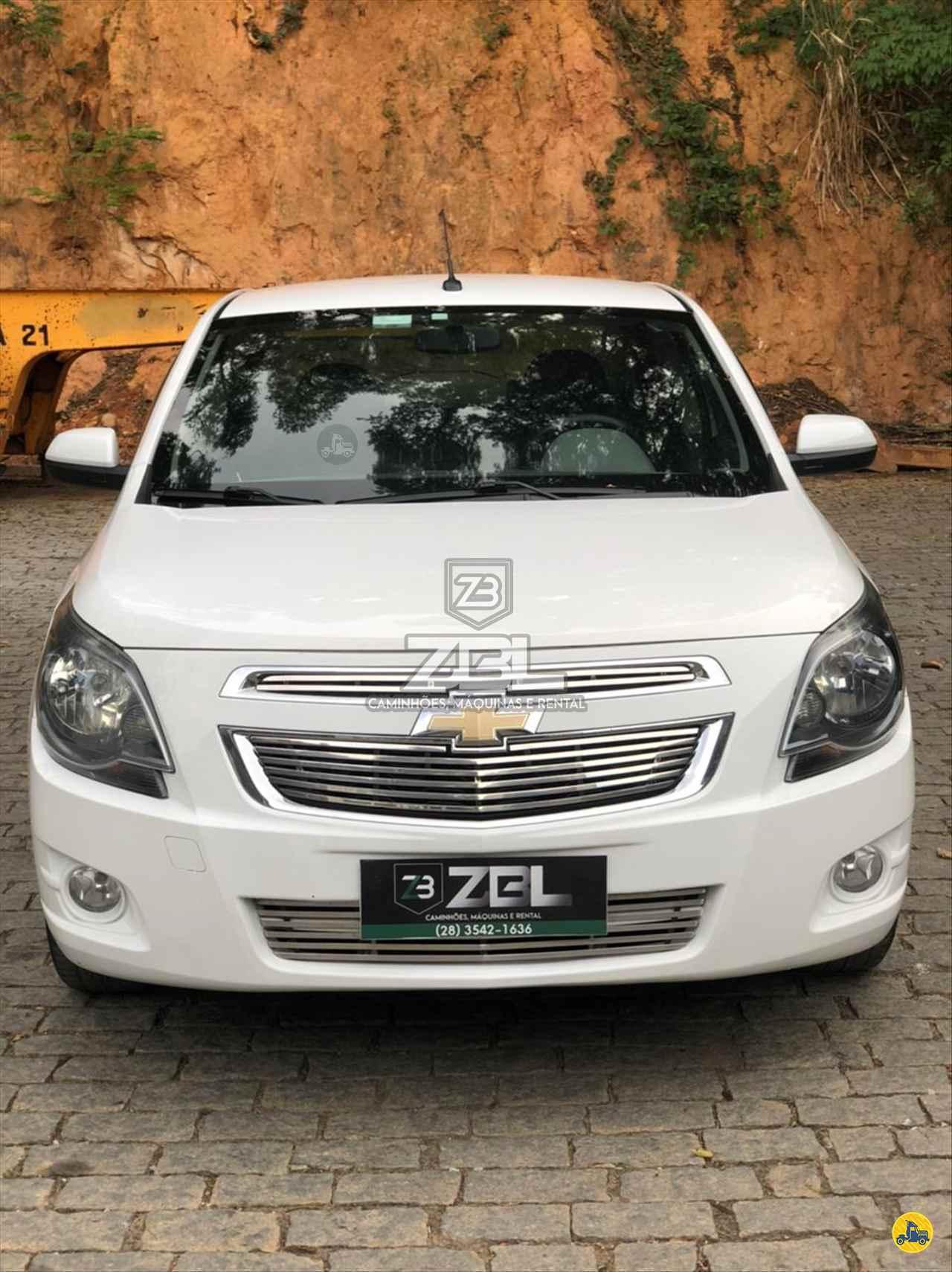 CARRO GM - Chevrolet Cobalt 1.8 LTZ ZBL Caminhões CASTELO ESPÍRITO SANTO ES