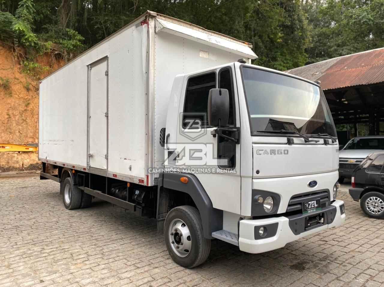 CAMINHAO FORD CARGO 1119 Baú Furgão 3/4 4x2 ZBL Caminhões CASTELO ESPÍRITO SANTO ES