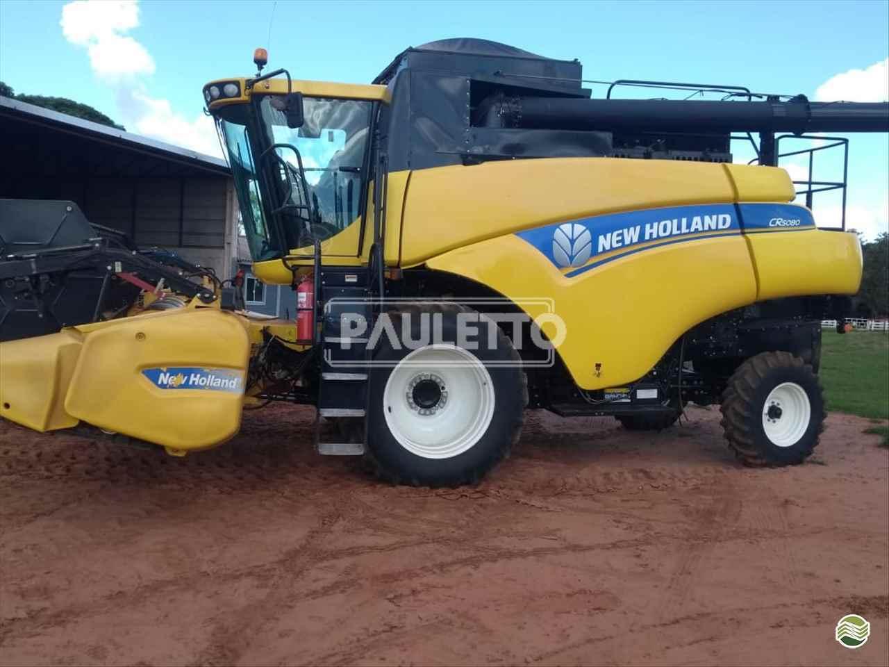 COLHEITADEIRA NEW HOLLAND CR 5080 Metalúrgica Pauletto CASCAVEL PARANÁ PR
