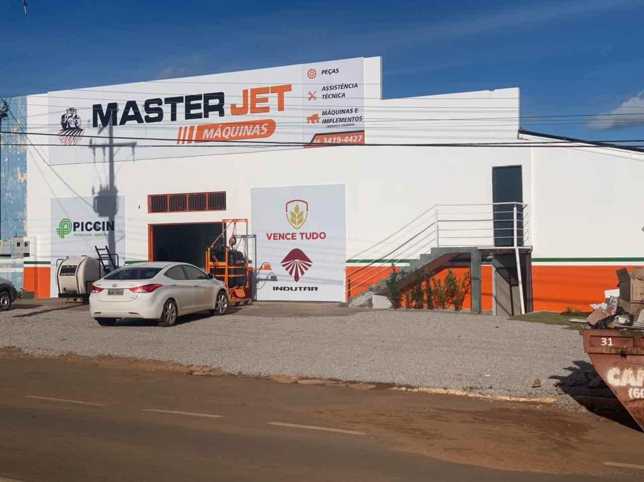 Foto da Loja da Master Jet Máquinas